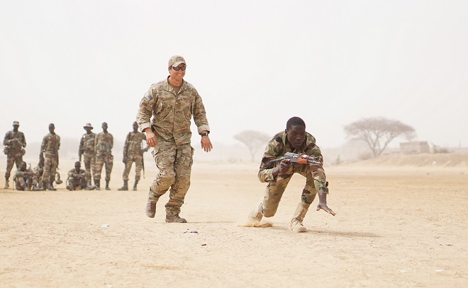Report: U.S. to shift military personnel away from Africa