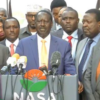 Kenya: Nasa sends formal election withdrawal letter to IEBC