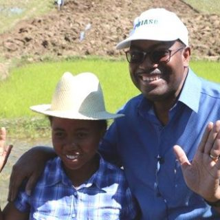 At World Food Prize Week, AfDB's Adesina sees an African transformation