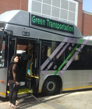 SA: New CNG-fueled buses hit the streets in Tshwane