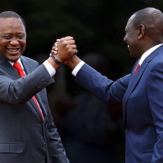 Kenyatta accepts victory in Kenya's disputed presidential election