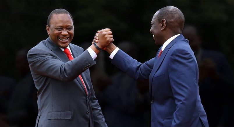 Kenyatta accepts victory in Kenya's disputed presidential election