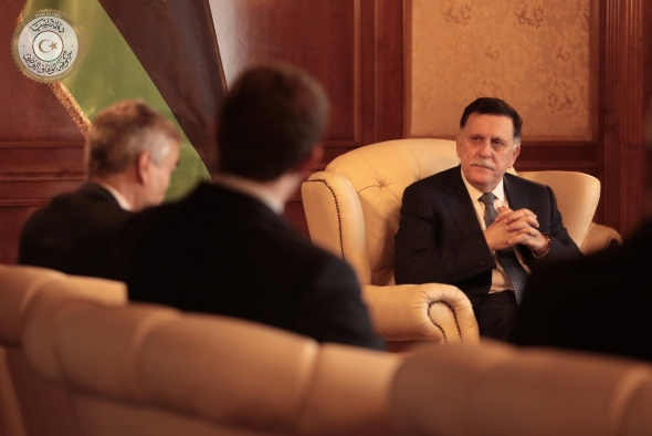 Libya's Sarraj meets with UK ambassador over Johnson diplomatic row