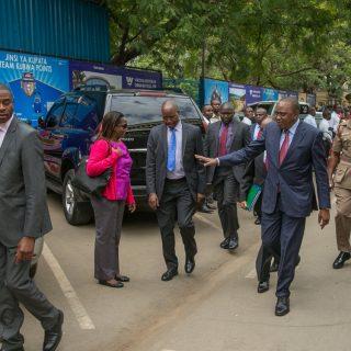 Kenyatta inauguration set as defiant opposition calls Kenyans to boycott