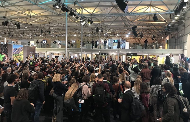 #COP23: Bonn activists oppose U.S. presence, fossil fuel emphasis