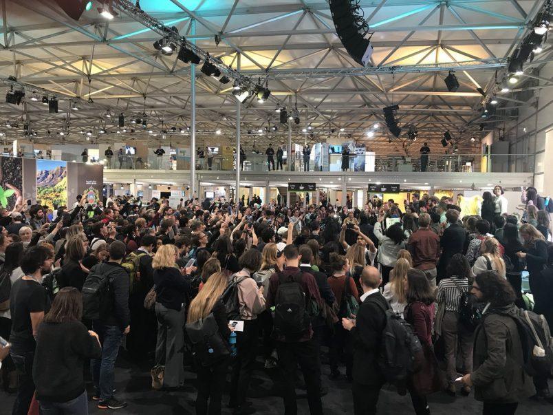 #COP23: Bonn activists oppose U.S. presence, fossil fuel emphasis