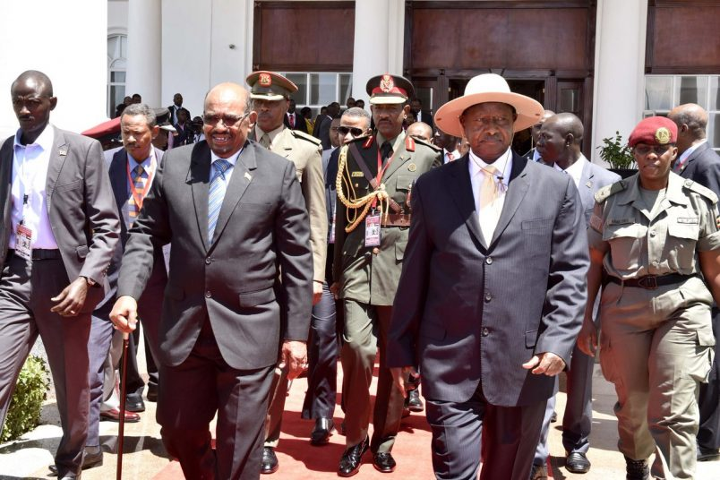 Despite ICC warrant, Uganda rolls out red carpet for Sudan's Al-Bashir