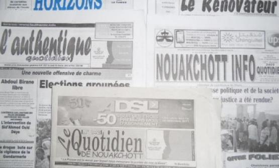 Mauritania says there's no paper for printing independent newspapers
