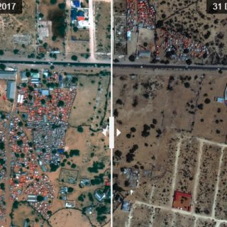 Amnesty satellite images show destruction of Somali IDP settlements