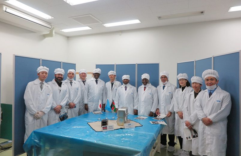 Kenya's first satellite is headed for the ISS