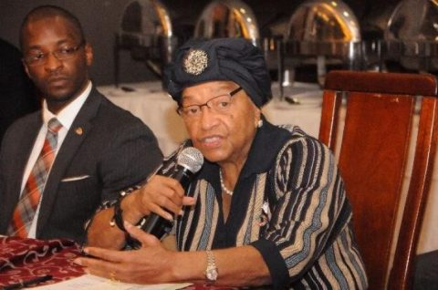 Liberia's Johnson Sirleaf expelled from her own party