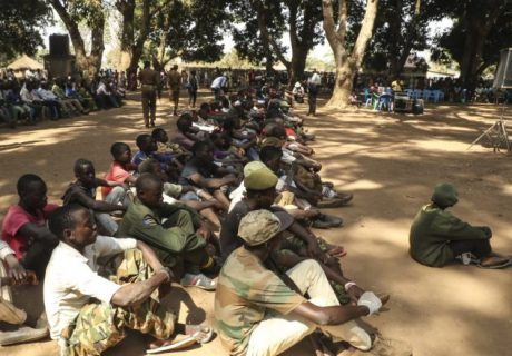More than 300 child soldiers released in South Sudan