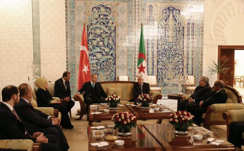 Turkey's Erdogan begins four-nation Africa tour in Algeria