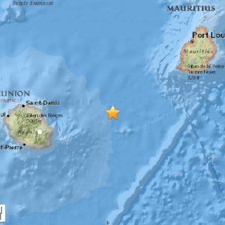 Small quake surprises Mauritius and La Réunion