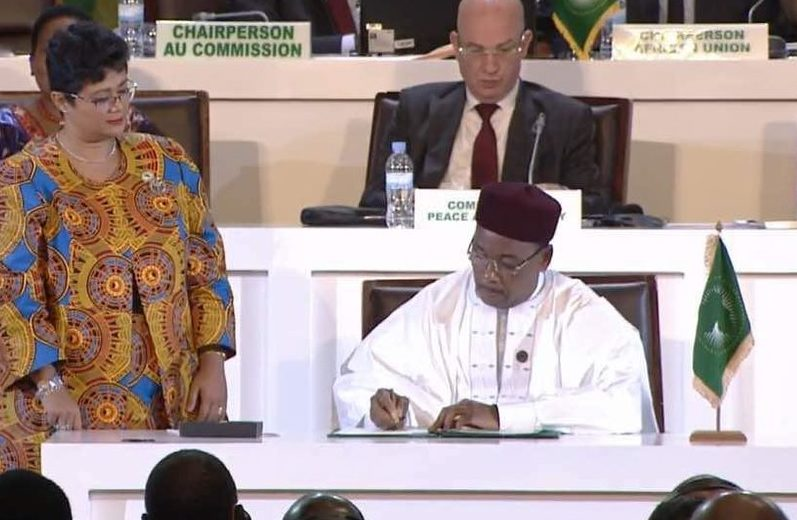 Niger leads the way as AU members sign historic ACFTA trade agreement