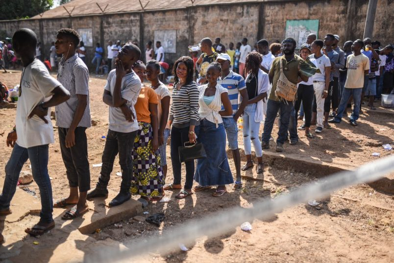 Sierra Leone: Partial election results show SLPP with slight lead
