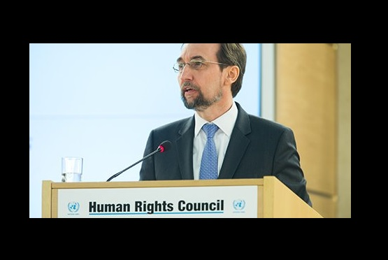 Attention to African nations in Zeid's Human Rights Council speech