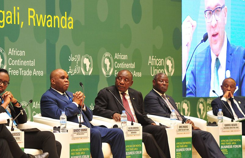 The African Continental Free Trade Agreement: Making it count for people and planet