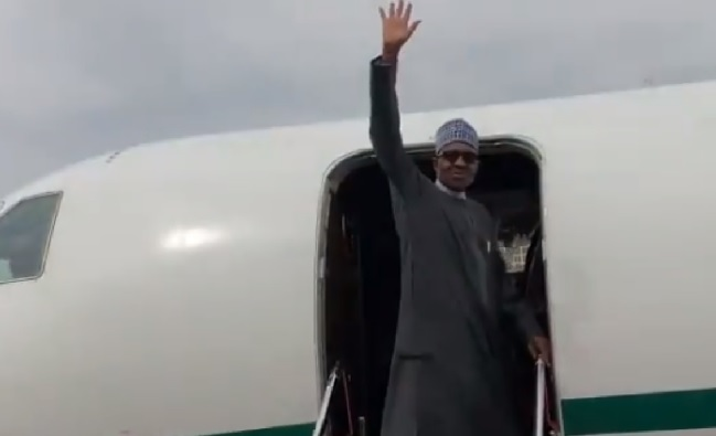 Buhari again heads to London for medical care