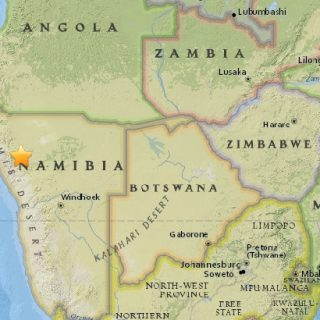 Namibia's latest quake comes as officials dispel 'big one' prediction rumor