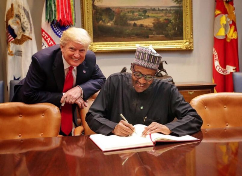 Nigeria: Buhari, Trump talk trade and counterterrorism