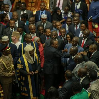 Kenyatta focuses on unity in State of the Nation address