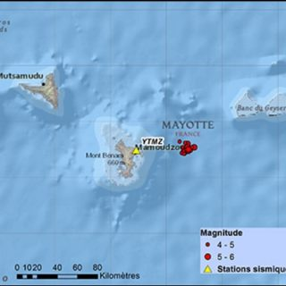 BRGM continues quake swarm updates as Mayotte closes schools