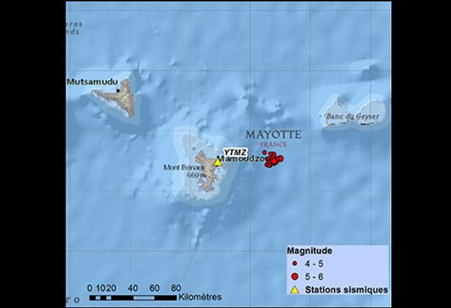 BRGM continues quake swarm updates as Mayotte closes schools