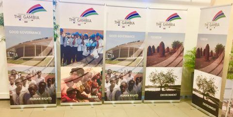 Barrow in Brussels for The Gambia-EU donor conference