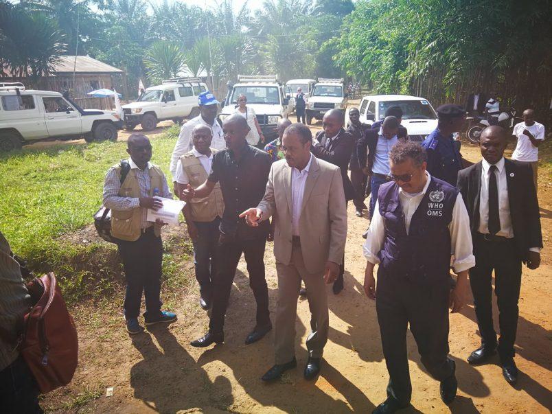 DRC: Ebola cases rise as Tedros visits Bikoro