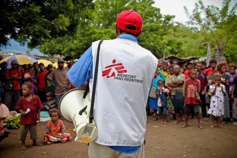 Doctors Without Borders responds to BBC report on sexual misconduct