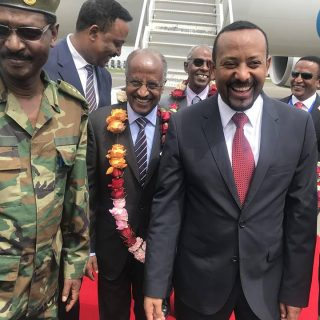 Eritrean delegation welcomed to Ethiopia