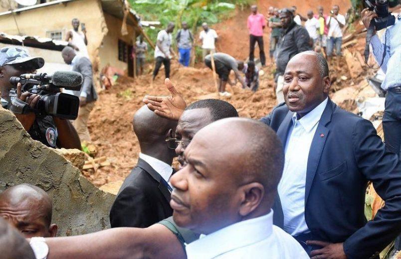 Ivoirian PM appeals for calm as 18 die in Abidjan floods