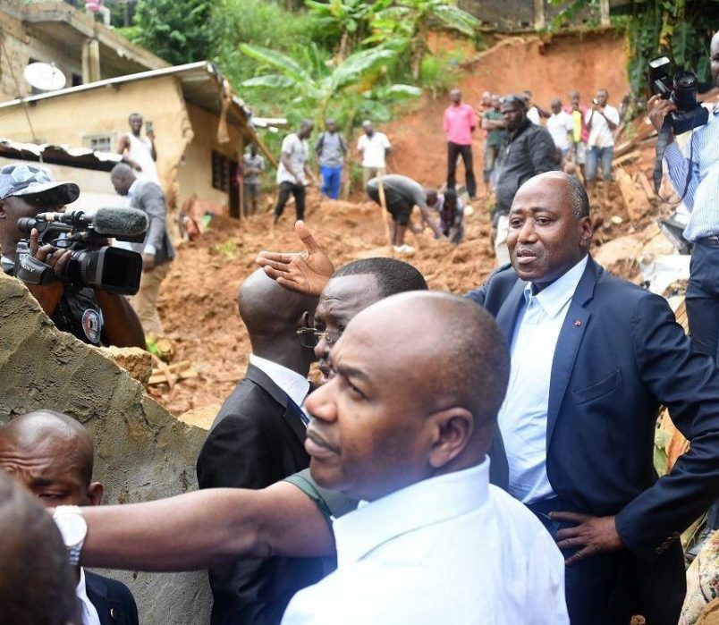 Ivoirian PM appeals for calm as 18 die in Abidjan floods