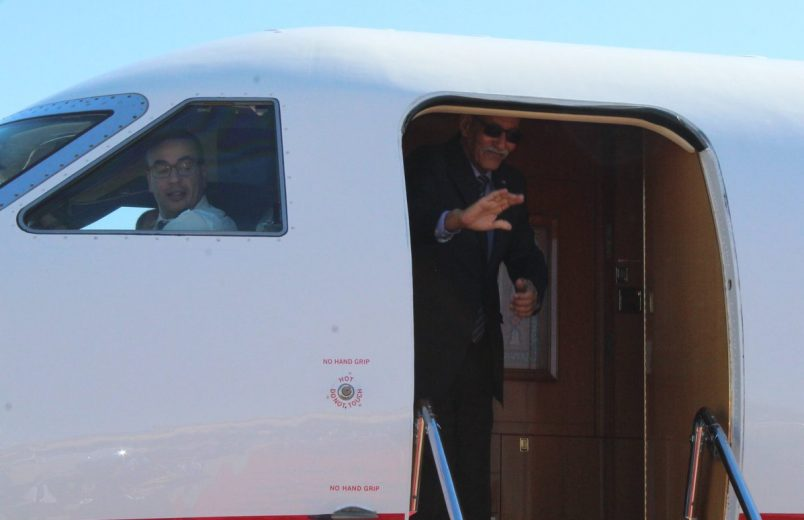 Ahead of AU summit, Western Sahara leader's tour takes him next to SA