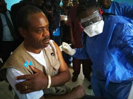 DR Congo says 700 have received Ebola vaccine