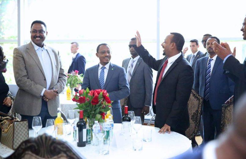 Ethiopia's Abiy courts diaspora on U.S. tour