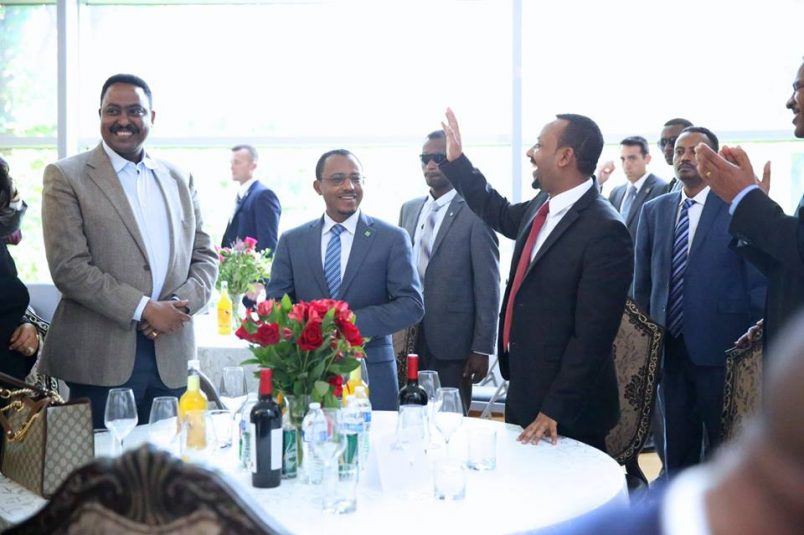 Ethiopia's Abiy courts diaspora on U.S. tour