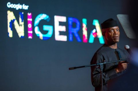 Osinbajo touts tech at Google for Nigeria