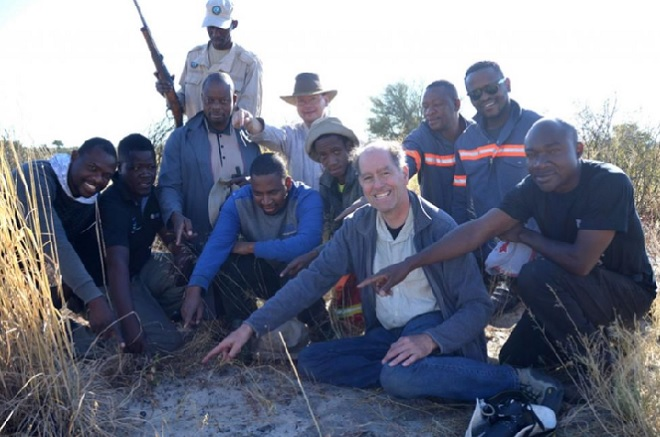 Scientists in Botswana find rare fragments from asteroid impact
