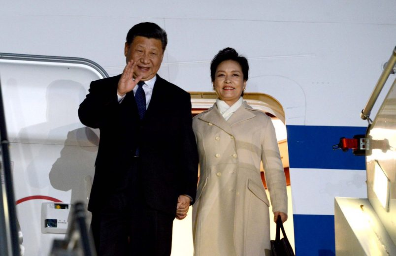 Ramaphosa, Xi begin talks in South Africa