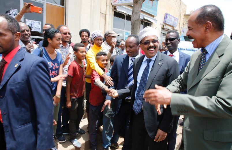 Somalia's Farmaajo arrives in Eritrea for three-day visit