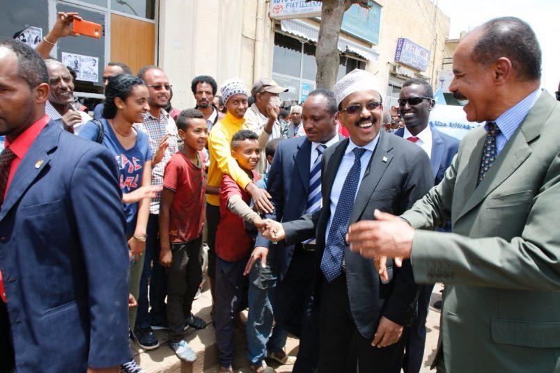 Somalia's Farmaajo arrives in Eritrea for three-day visit