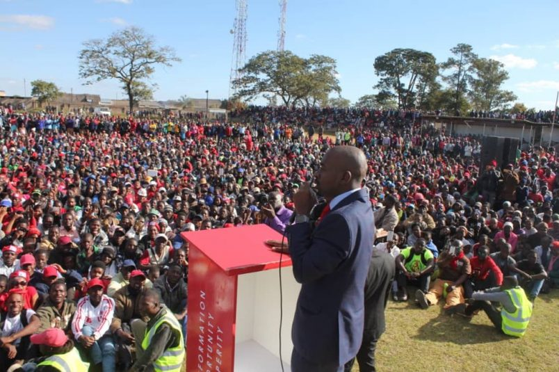 Chamisa encourages MDC voters in final push toward the polls