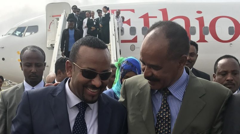 Abiy says Nobel award is a 'collective win for Ethiopians'