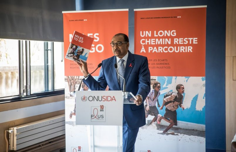 UNAIDS: West and Central Africa fall behind in progress on HIV