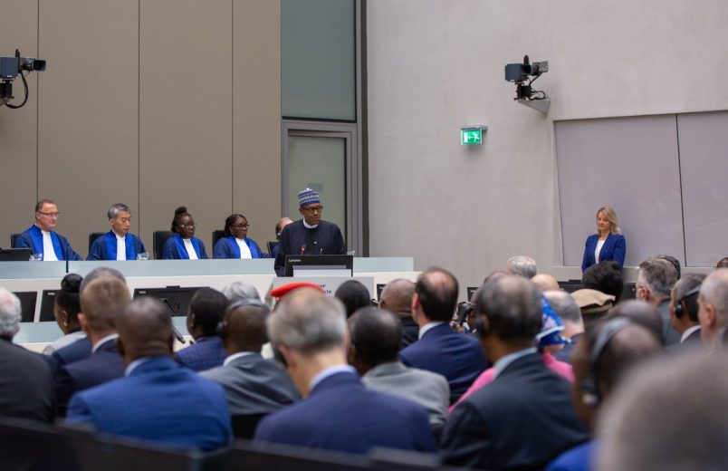 Nigeria's Buhari says world needs ICC now more than ever