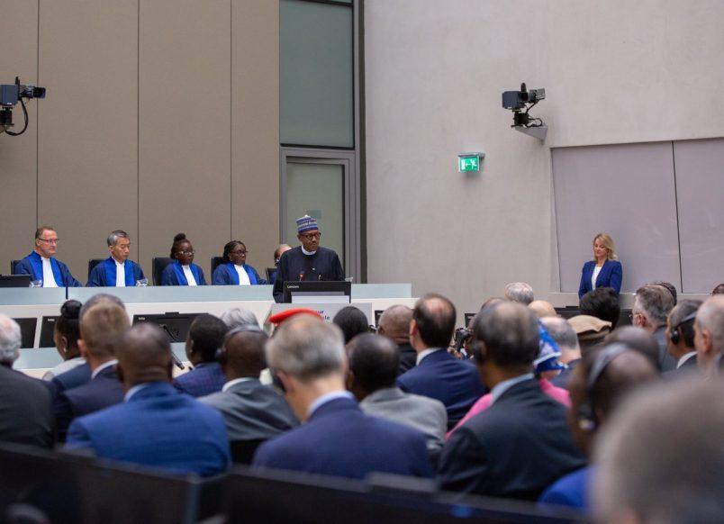 Nigeria's Buhari says world needs ICC now more than ever