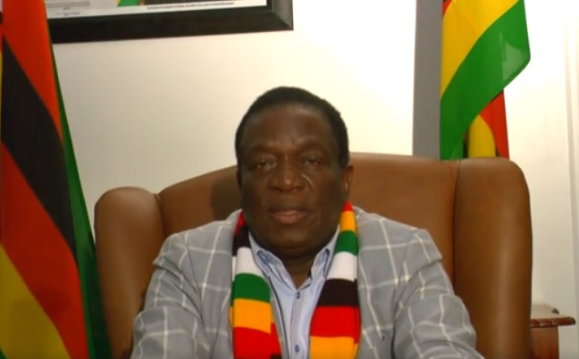 Mnangagwa fires at Chamisa, after Mugabe says he won't vote Zanu PF