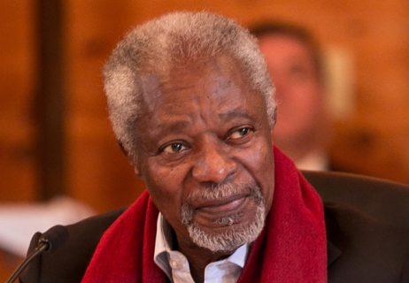 Former UNSG Kofi Annan has died